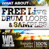 Free Live / Acoustic Drum Loops & Samples (W. A. Production)