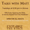 Talks with Matt Episode 9 (8/25/15): Planned Parenthood Officials Discussing Sale of Fetal Tissue