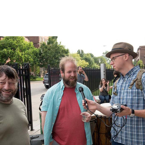 Rob St. Mary interviews Francis McKee, John Nicol and Cedric Tai