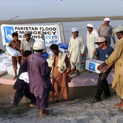 Islamic Relief responds to Pakistan Floods