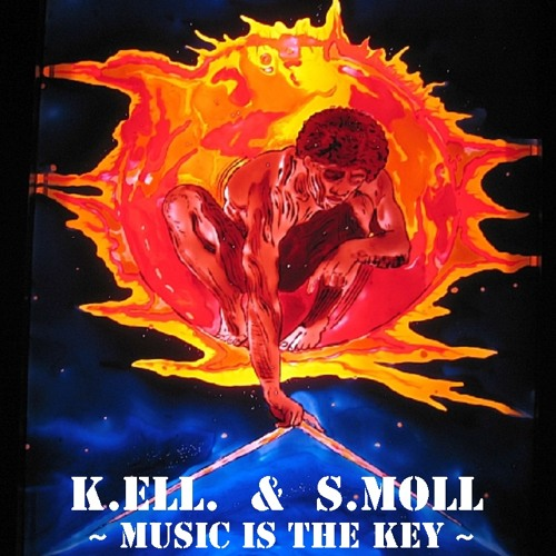 K.ELL.& S. Moll ~ Music is the Key ~   Old DAT 1994 Live Studio        RMX  1