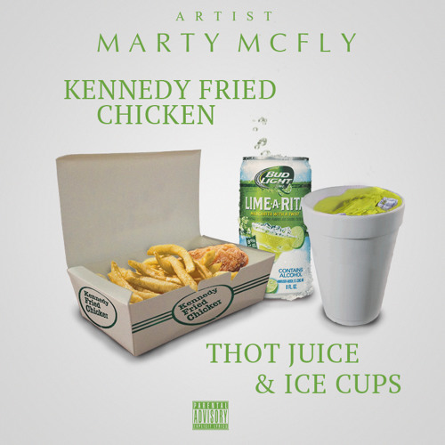 Kennedy Fried Chicken Thot Juice & Ice Cups