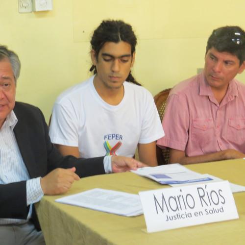 20150827 ENTREVISTA A MARIO RIOS DE JUSTICIA EN SALUD EN RADIO EXITOSA