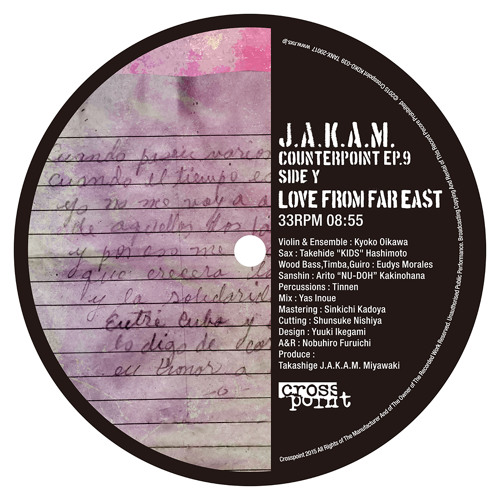 J.A.K.A.M. / LOVE FROM FAR EAST