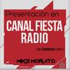 Presentación en 'Canal Fiesta' del mashup