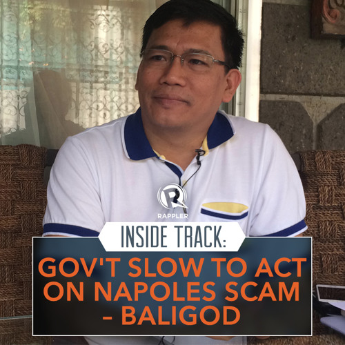 Inside Track: Gov't slow to act on Napoles scam – Baligod