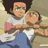 The Boondocks Soundtrack - Huey VS Riley