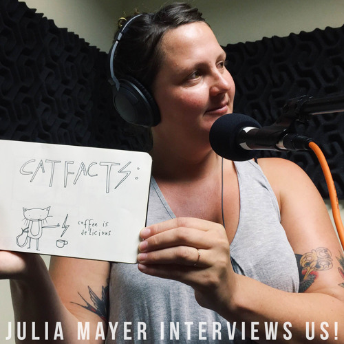 Julia Mayer Turns The Tables And Interviews Us!