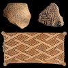 Geometric Designs: Vessel Fragments and Cushion Covers