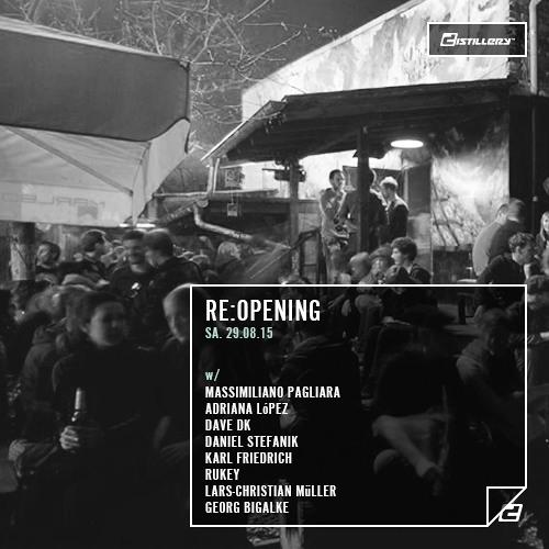 Rukey @ Distillery - Leipzig // Re:Opening 29.08.2015