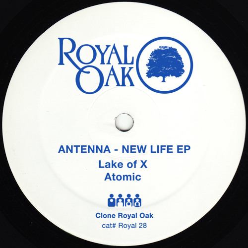 Antenna - New Life EP - Royal028