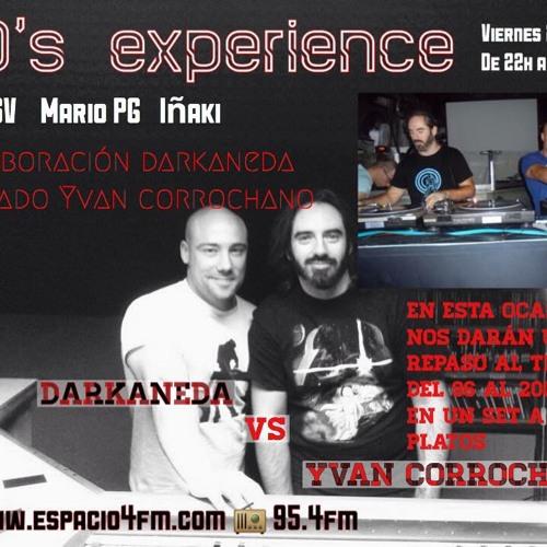 Espacio 4 - 3 programa. Darkaneda vs Yvan Corrochano (Techno)