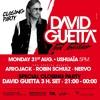 David Guetta Live @ Ushuaia Ibiza Closing Party - BLACK vs HOW DEEP IS YOUR LOVE...