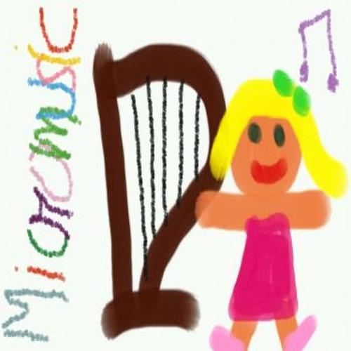 The little harpist