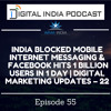 India blocked mobile messaging & Facebook 1 billion users in 1 day | DIGITAL MARKETING UPDATES