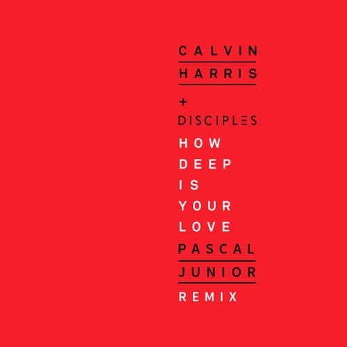 Calvin Harris & Disciples - How Deep Is Your Love (Pascal Junior Remix)