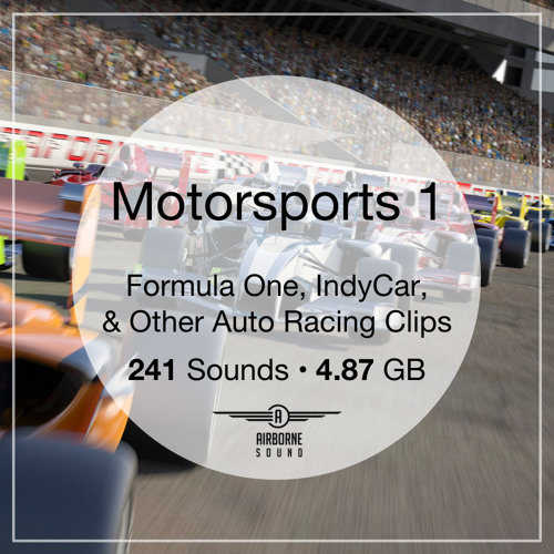 Motorsports 1 Sound Library Preview Demo Montage