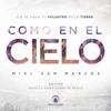 09 Dios Está Aquí Miel-San-Marcos-Como-En-El-Cielo-2015(En Vivo) Portada del disco