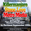 KILLERMANJARO VS STONE LOVE VS METRO MEDIA IN PORTLAND.SEPT 1994