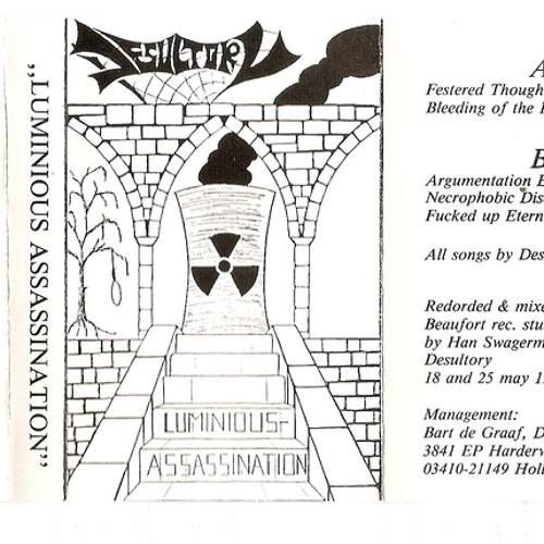 Desultory demo 1991 Luminious Assassination