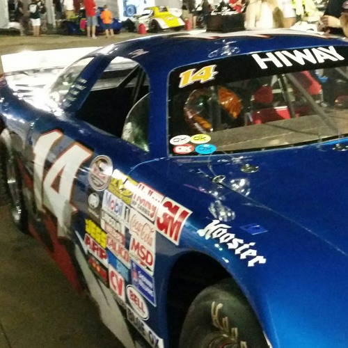 Doug Brown BIG 8 winner at Elko Speedway