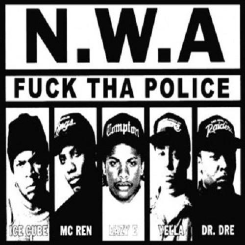N w a fuck the police