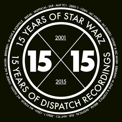 SKEPTICAL promomix '15 Years Of Star Warz X Dispatch Recordings'