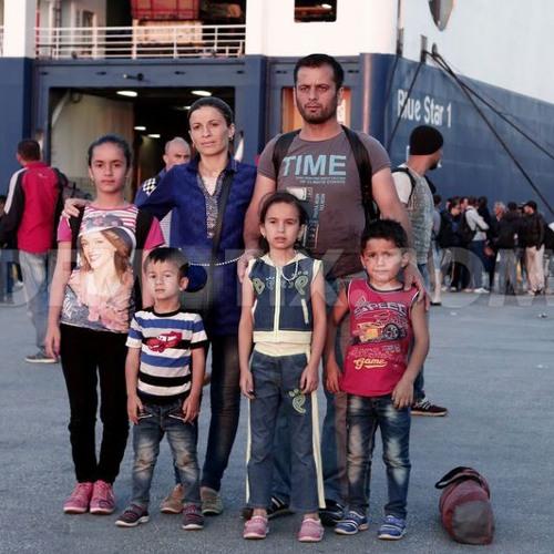 Greek refugee solidarity activist Maria