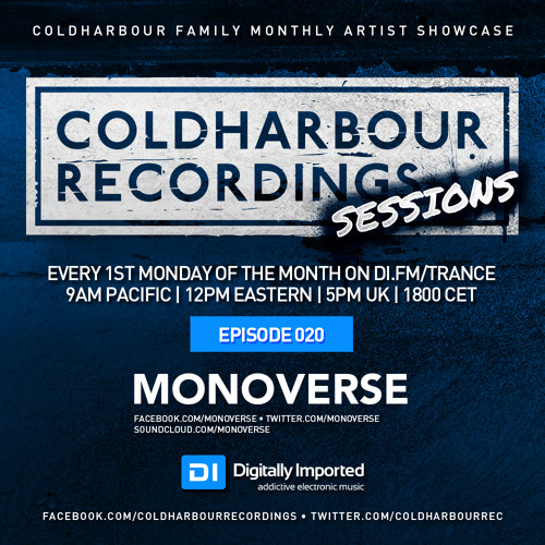Coldharbour Sessions 020: Monoverse (Sep 2015)