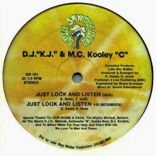DJ KJ & MC KOOLEY C - JUST LOOK LISTEN (INSTR)