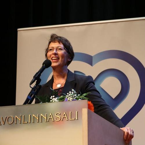 Sari Essayah. KD:n puheenjohtaja