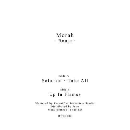 Morah - Route - RTTD002