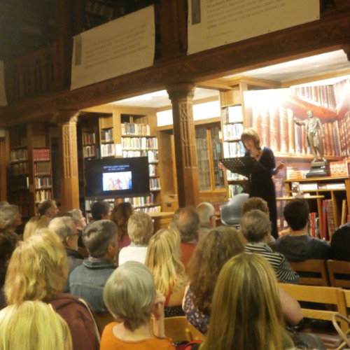 Sarah Dunant, Getting Under Their Skins: History, Fiction and Art - Gladfest 2015