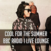 Demi Lovato singing Cool For The Summer at the BBC Radio 1 Live Lounge