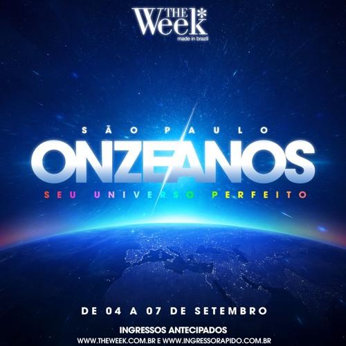 THE WEEK BRAZIL 11 ANOS SET MIX - MAURO MOZART
