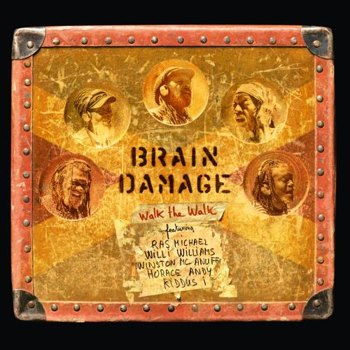 Brain Damage - Walk the Walk - Fyah Bun feat Willi Williams