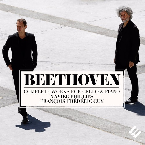 Beethoven - Sonata for cello & piano n°3 (Allegro non tanto) François-Frédéric Guy & Xavier Phillips