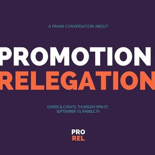 Interview with Ted Westervelt about promotion/relegation: Divers & Cheats