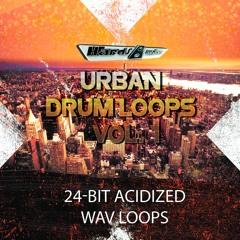 Hardsamples Urban Drum Loops Vol.1