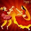 Dj Mera Gana Bajade DANDIYA mix  at Dj HBR INDIA'S MIX