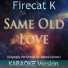 Same Old Love [Originally Performed By Selena Gomez] [Karaoke Version]