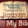 I Love My Bible ကြ်ႏုု္ပ္က်မ္းစာအုုပ္ကိုုခ်စ္သည္