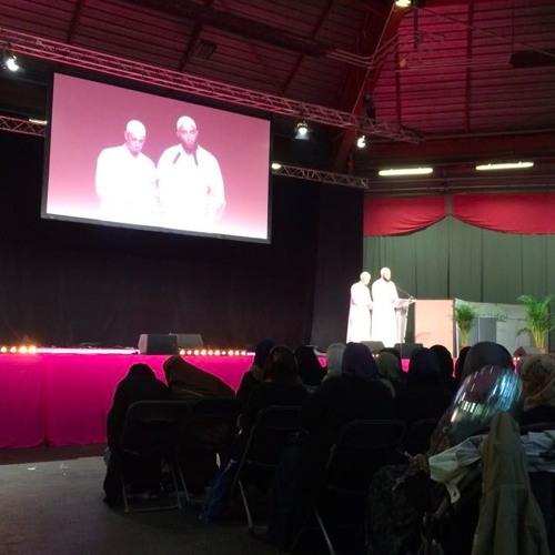 Discours des imams Nader Abou Anas et Medhi Kabir au salon musulman