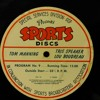 Sports Discs: Tom Manning/Tris Speaker and Lou Boudreau and Bing Crosby/Ken Carpenter