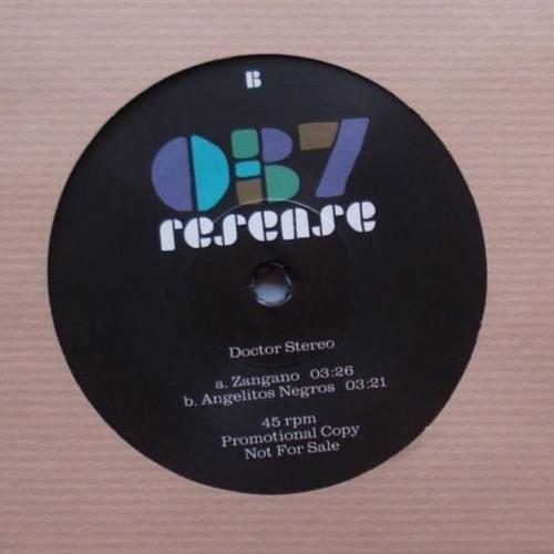 "Doctor Stereo - AngelitosNegros (Resense 7"" vinyl)"