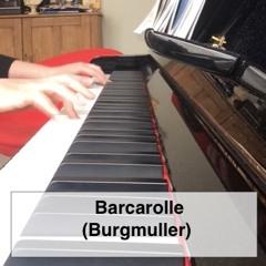 Barcarolle Op.100, No.22 - Burgmuller
