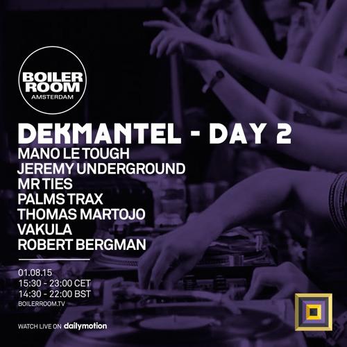 Mr Ties Boiler Room x Dekmantel Festival DJ Set