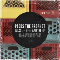 """Peebs The Prophet - """"Dead Calm"""" (Prod. Phoniks) - Vinyl OUT NOW!"""