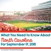 What You Need To Know About North Carolina For September 17, 2015