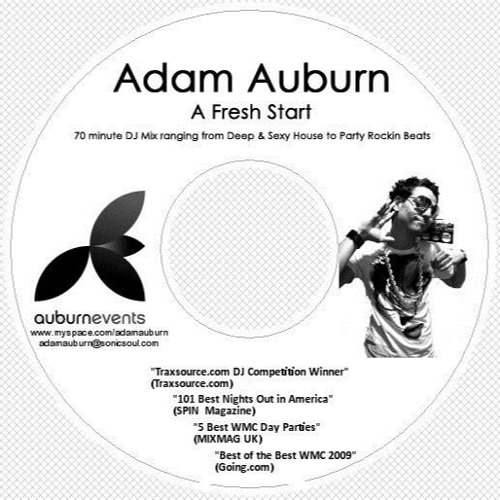 Adam Auburn - A Fresh Start (70 Min Mixtape) Jan '09